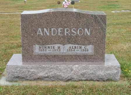 ANDERSON, ALBIN C. - Knox County, Nebraska   ALBIN C. ANDERSON - Nebraska Gravestone Photos