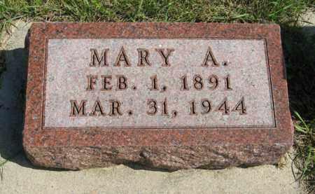 ANDERSON, MARY A. - Knox County, Nebraska | MARY A. ANDERSON - Nebraska Gravestone Photos