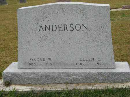 ANDERSON, OSCAR W. - Knox County, Nebraska | OSCAR W. ANDERSON - Nebraska Gravestone Photos
