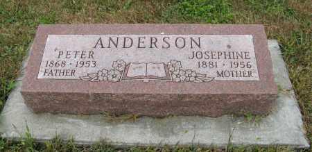 ANDERSON, JOSEPHINE - Knox County, Nebraska | JOSEPHINE ANDERSON - Nebraska Gravestone Photos
