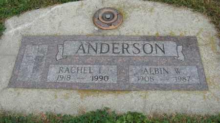 ANDERSON, ALBIN W. - Knox County, Nebraska   ALBIN W. ANDERSON - Nebraska Gravestone Photos