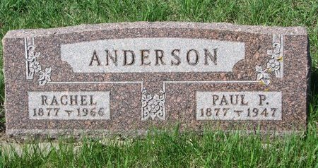 ANDERSON, RACHEL - Knox County, Nebraska | RACHEL ANDERSON - Nebraska Gravestone Photos