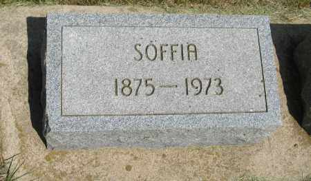 ANDERSON, SOFFIA - Knox County, Nebraska | SOFFIA ANDERSON - Nebraska Gravestone Photos