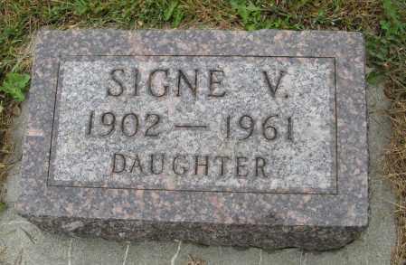 ANDERSON, SIGNE V. - Knox County, Nebraska | SIGNE V. ANDERSON - Nebraska Gravestone Photos
