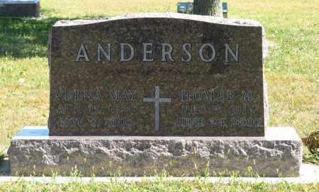 ANDERSON, HOMER M. - Knox County, Nebraska | HOMER M. ANDERSON - Nebraska Gravestone Photos