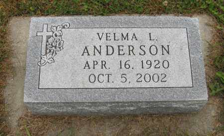 ANDERSON, VELMA L. - Knox County, Nebraska | VELMA L. ANDERSON - Nebraska Gravestone Photos