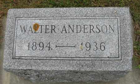 ANDERSON, WALTER - Knox County, Nebraska | WALTER ANDERSON - Nebraska Gravestone Photos
