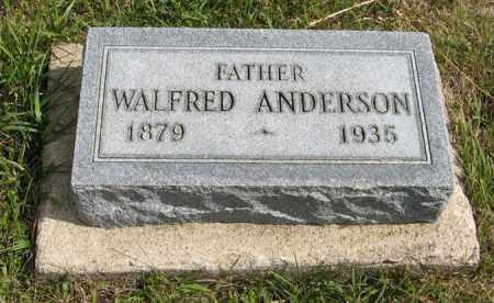 ANDERSON, WALFRED - Knox County, Nebraska | WALFRED ANDERSON - Nebraska Gravestone Photos