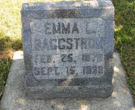 BAGGSTROM, EMMA L. - Knox County, Nebraska | EMMA L. BAGGSTROM - Nebraska Gravestone Photos