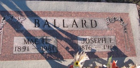 BALLARD, JOSEPH F. - Knox County, Nebraska | JOSEPH F. BALLARD - Nebraska Gravestone Photos