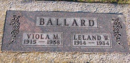FERGUSON BALLARD, VIOLA M. - Knox County, Nebraska | VIOLA M. FERGUSON BALLARD - Nebraska Gravestone Photos