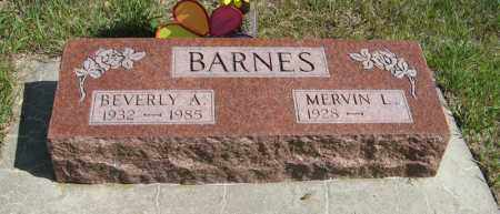 BARNES, BEVERLY A. - Knox County, Nebraska | BEVERLY A. BARNES - Nebraska Gravestone Photos