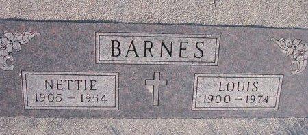 BARNES, LOUIS - Knox County, Nebraska | LOUIS BARNES - Nebraska Gravestone Photos