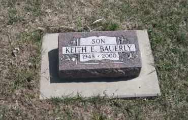 BAUERLY, KEITH E. - Knox County, Nebraska | KEITH E. BAUERLY - Nebraska Gravestone Photos