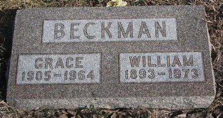 BECKMAN, WILLIAM - Knox County, Nebraska | WILLIAM BECKMAN - Nebraska Gravestone Photos