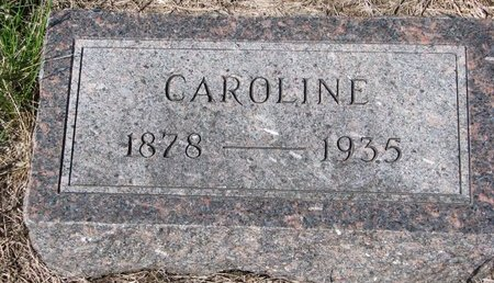 BECKMANN, CAROLINE CHRISTINE ELMIRA - Knox County, Nebraska | CAROLINE CHRISTINE ELMIRA BECKMANN - Nebraska Gravestone Photos