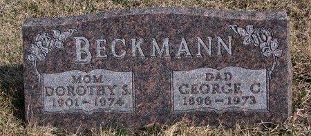 BECKMANN, DOROTHY S. - Knox County, Nebraska   DOROTHY S. BECKMANN - Nebraska Gravestone Photos