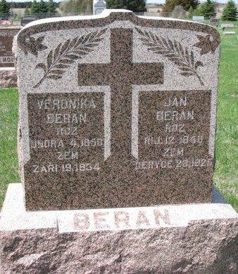 "BERAN, JAN ""JOHN"" - Knox County, Nebraska   JAN ""JOHN"" BERAN - Nebraska Gravestone Photos"