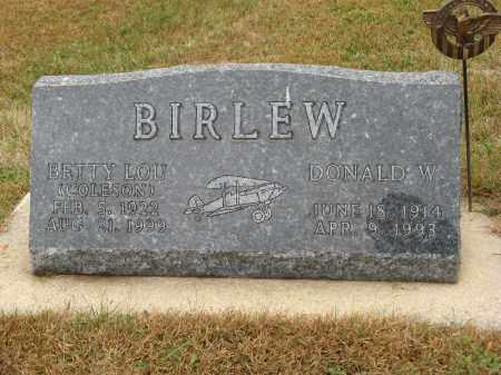 BIRLEW, BETTY LOU - Knox County, Nebraska | BETTY LOU BIRLEW - Nebraska Gravestone Photos