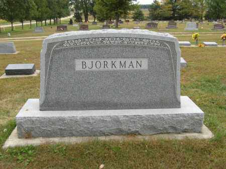 BJORKMAN, (FAMILY MONUMENT) - Knox County, Nebraska | (FAMILY MONUMENT) BJORKMAN - Nebraska Gravestone Photos