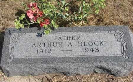 BLOCK, ARTHUR A. - Knox County, Nebraska | ARTHUR A. BLOCK - Nebraska Gravestone Photos