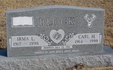 BLOCK, CARL H. - Knox County, Nebraska | CARL H. BLOCK - Nebraska Gravestone Photos