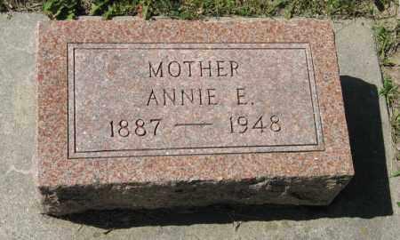 BLOOMQUIST, ANNIE E. - Knox County, Nebraska | ANNIE E. BLOOMQUIST - Nebraska Gravestone Photos