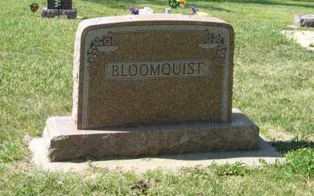 BLOOMQUIST, FAMILY - Knox County, Nebraska | FAMILY BLOOMQUIST - Nebraska Gravestone Photos