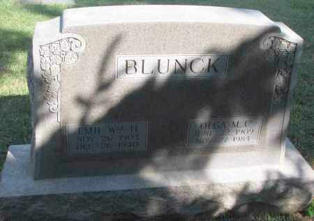 BLUNCK, OLGA M.C. - Knox County, Nebraska   OLGA M.C. BLUNCK - Nebraska Gravestone Photos