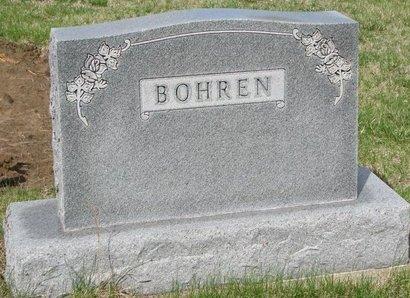 *BOHREN, FAMILY MONUMENT - Knox County, Nebraska   FAMILY MONUMENT *BOHREN - Nebraska Gravestone Photos