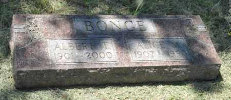 BONGE, ALICE M. - Knox County, Nebraska | ALICE M. BONGE - Nebraska Gravestone Photos