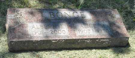BONGE, ALBERT T. - Knox County, Nebraska | ALBERT T. BONGE - Nebraska Gravestone Photos