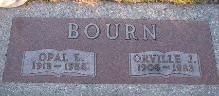 WRIGHT BOURN, OPAL L. - Knox County, Nebraska   OPAL L. WRIGHT BOURN - Nebraska Gravestone Photos