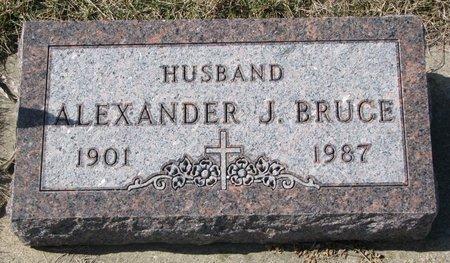 BRUCE, ALEXANDER J. - Knox County, Nebraska   ALEXANDER J. BRUCE - Nebraska Gravestone Photos