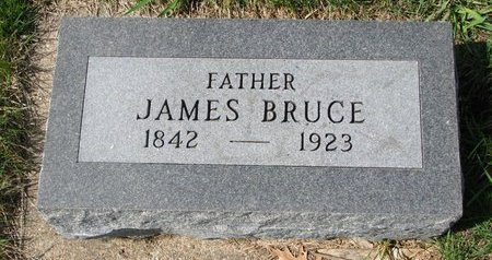BRUCE, JAMES - Knox County, Nebraska | JAMES BRUCE - Nebraska Gravestone Photos