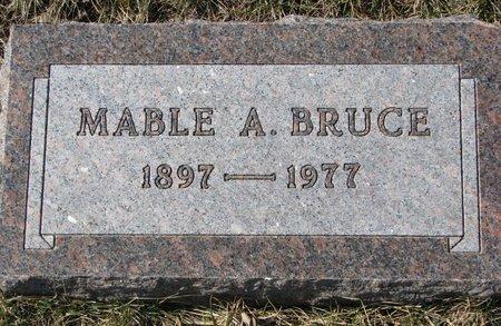 BRUCE, MABLE A. - Knox County, Nebraska | MABLE A. BRUCE - Nebraska Gravestone Photos