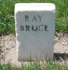BRUCE, RAY - Knox County, Nebraska   RAY BRUCE - Nebraska Gravestone Photos