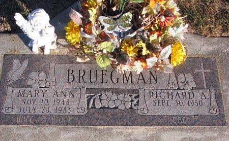 SUNNARBORG BRUEGMAN, MARY ANN - Knox County, Nebraska   MARY ANN SUNNARBORG BRUEGMAN - Nebraska Gravestone Photos