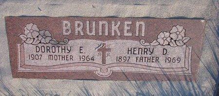 BRUNKEN, HENRY D. - Knox County, Nebraska   HENRY D. BRUNKEN - Nebraska Gravestone Photos