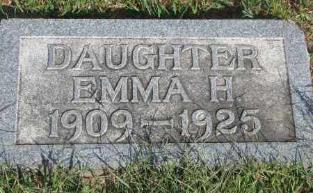 BUHRMAN, EMMA H. - Knox County, Nebraska | EMMA H. BUHRMAN - Nebraska Gravestone Photos