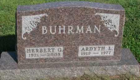 BUHRMAN, HERBERT G. - Knox County, Nebraska | HERBERT G. BUHRMAN - Nebraska Gravestone Photos