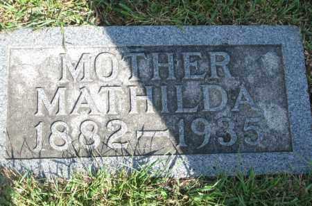 BUHRMAN, MATHILDA - Knox County, Nebraska | MATHILDA BUHRMAN - Nebraska Gravestone Photos