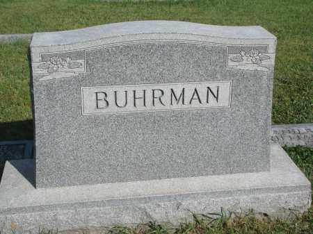 BUHRMAN, PLOT STONE - Knox County, Nebraska   PLOT STONE BUHRMAN - Nebraska Gravestone Photos