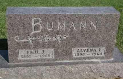 BUMANN, EMIL L. - Knox County, Nebraska | EMIL L. BUMANN - Nebraska Gravestone Photos