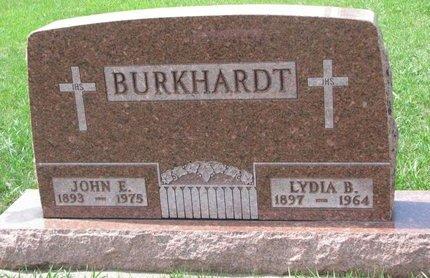 JANNA BURKHARDT, LYDIA BELLE - Knox County, Nebraska | LYDIA BELLE JANNA BURKHARDT - Nebraska Gravestone Photos