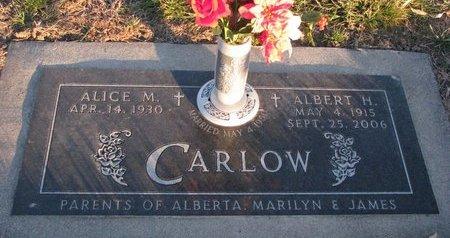CARLOW, ALICE M. - Knox County, Nebraska   ALICE M. CARLOW - Nebraska Gravestone Photos