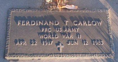 CARLOW, FERDINAND T. - Knox County, Nebraska | FERDINAND T. CARLOW - Nebraska Gravestone Photos