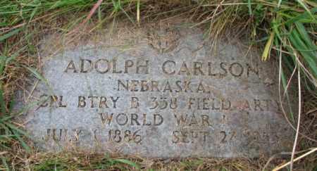CARLSON, ADOLPH - Knox County, Nebraska | ADOLPH CARLSON - Nebraska Gravestone Photos