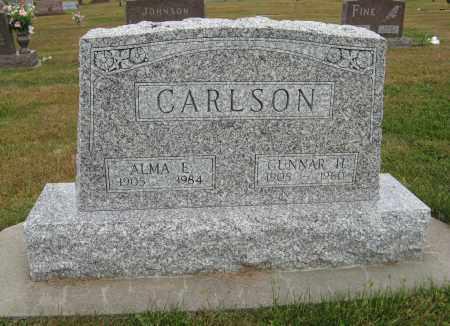 CARLSON, ALMA E. - Knox County, Nebraska | ALMA E. CARLSON - Nebraska Gravestone Photos