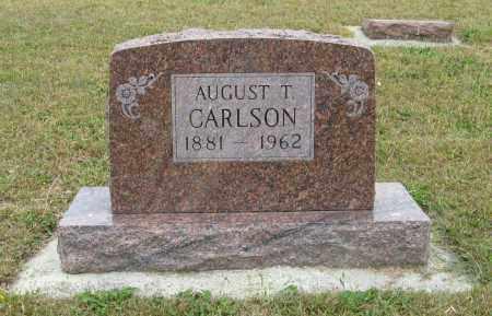 CARLSON, AUGUST T. - Knox County, Nebraska   AUGUST T. CARLSON - Nebraska Gravestone Photos